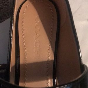 Coach Shoes - NWT Black patent Mary Jane!